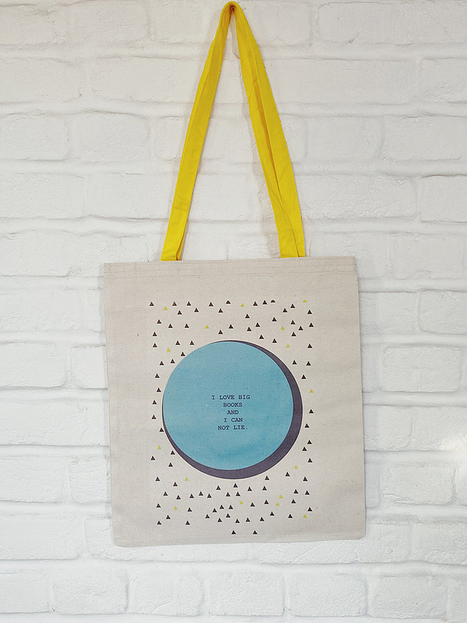 """""""I Love Big Books and I Can Not Lie"""" Tote Bag by FiLBooks"""