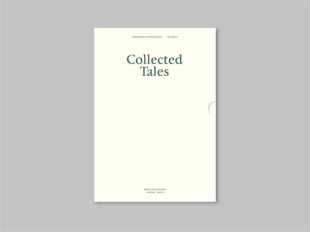 Collected Tales – The Journal of Grievances Volume IV